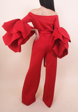 Load image into Gallery viewer, Red Monique Jumpsuit