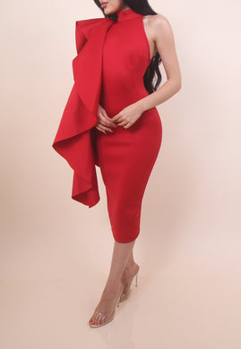 'RANICA' Dress - Red