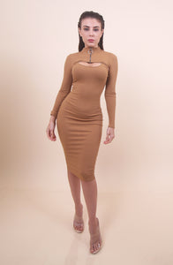 'CINDY' Nude Dress