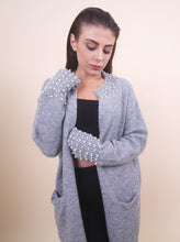 Load image into Gallery viewer, 'LISA' Pearl Cardigan