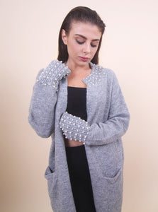 'LISA' Pearl Cardigan