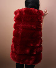 Load image into Gallery viewer, 'DANGEROUS' Faux Fur Vest