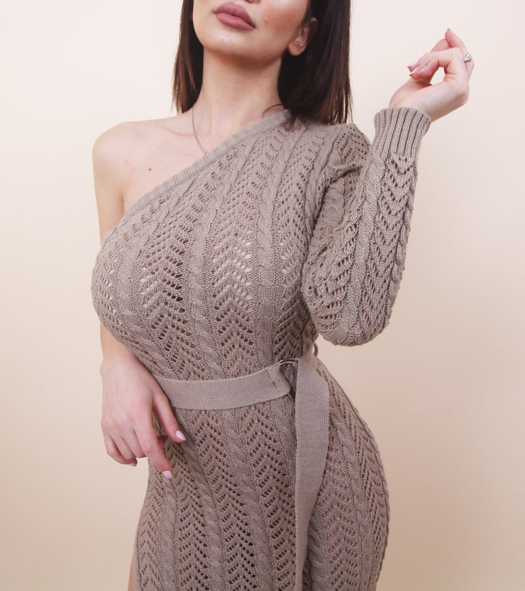 'CAMILLA' Knit Cover Up Dress