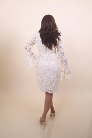 'DINA' Crochet Dress
