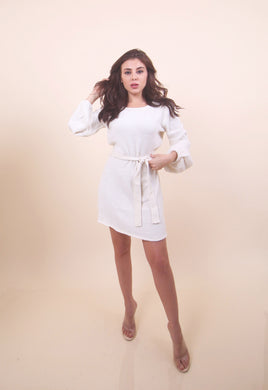 'CATHY' White Dress