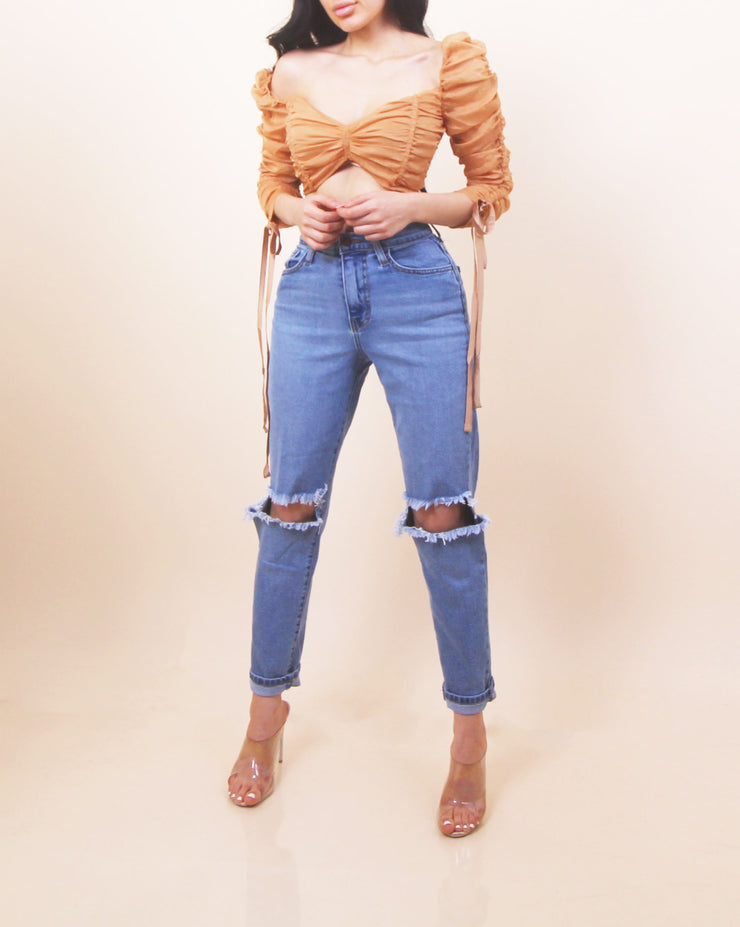 'MIMI' High Waisted Stretchy Jeans