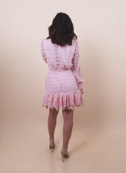 'FAINA' Crochet Dress