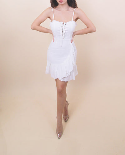 'ALEENA' Laced Summer Dress