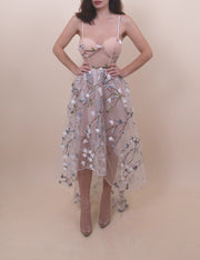 'ETHEREAL FEELS' Flower Print Dress
