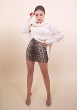 Load image into Gallery viewer, 'KALI' Cheetah Print Skirt