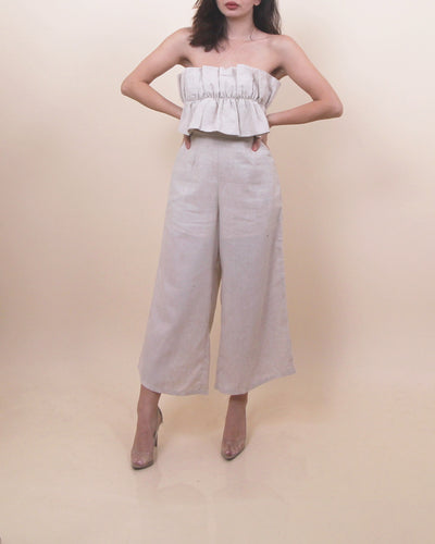'SEFINE' Belted Jumpsuit