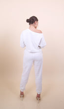 Load image into Gallery viewer, 'TINA' White Sweat Set