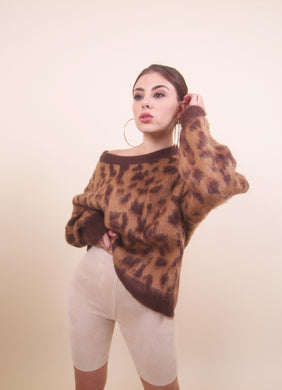 'CHEETAH' Cozy Sweater