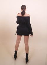 Load image into Gallery viewer, Black - 'KELLY' Sweater Dress