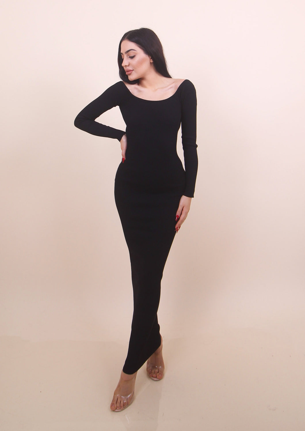 'SAMANTHA' Dress - Black