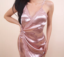 Load image into Gallery viewer, 'FRANCIS' Satin Dress- Blush