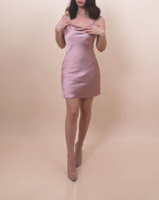 'SUMMER NIGHTS' Satin Dress
