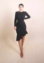 'KAREN' Asymmetric Dress
