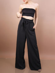 'JUNE' Striped Pants