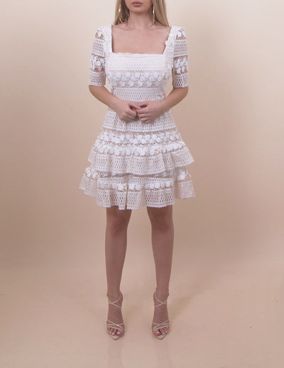 'JENA' Crochet Dress