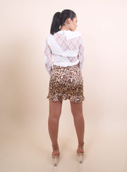 'DOLLY' Cheetah Print Skirt