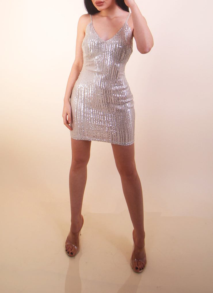 'HAILEY' Sequin Dress