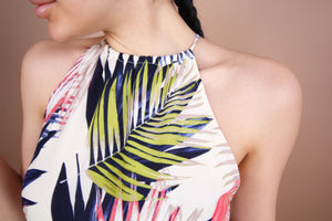 'ALINA' Palms Dress