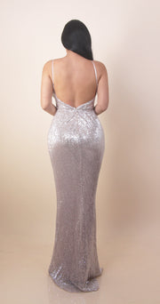 'LILIAN' Sequin Dress