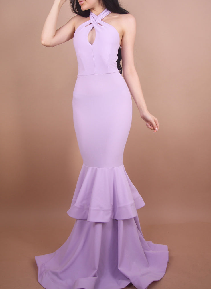 'GRACE' Gown in Lavender