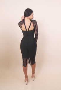 'ALIKA' Bandage Dress