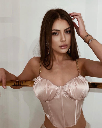'LALA' Bustier Top