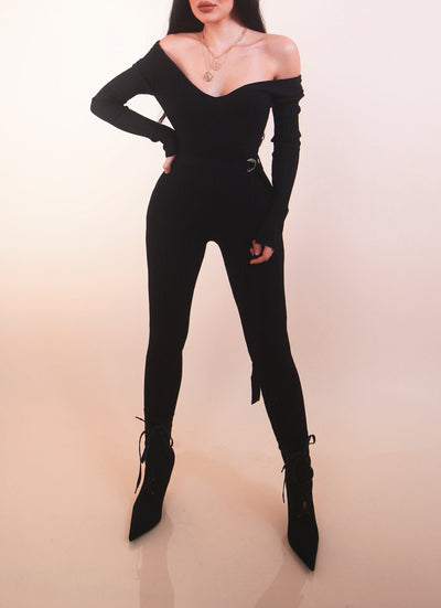'TRINITY' Jumpsuit - Black