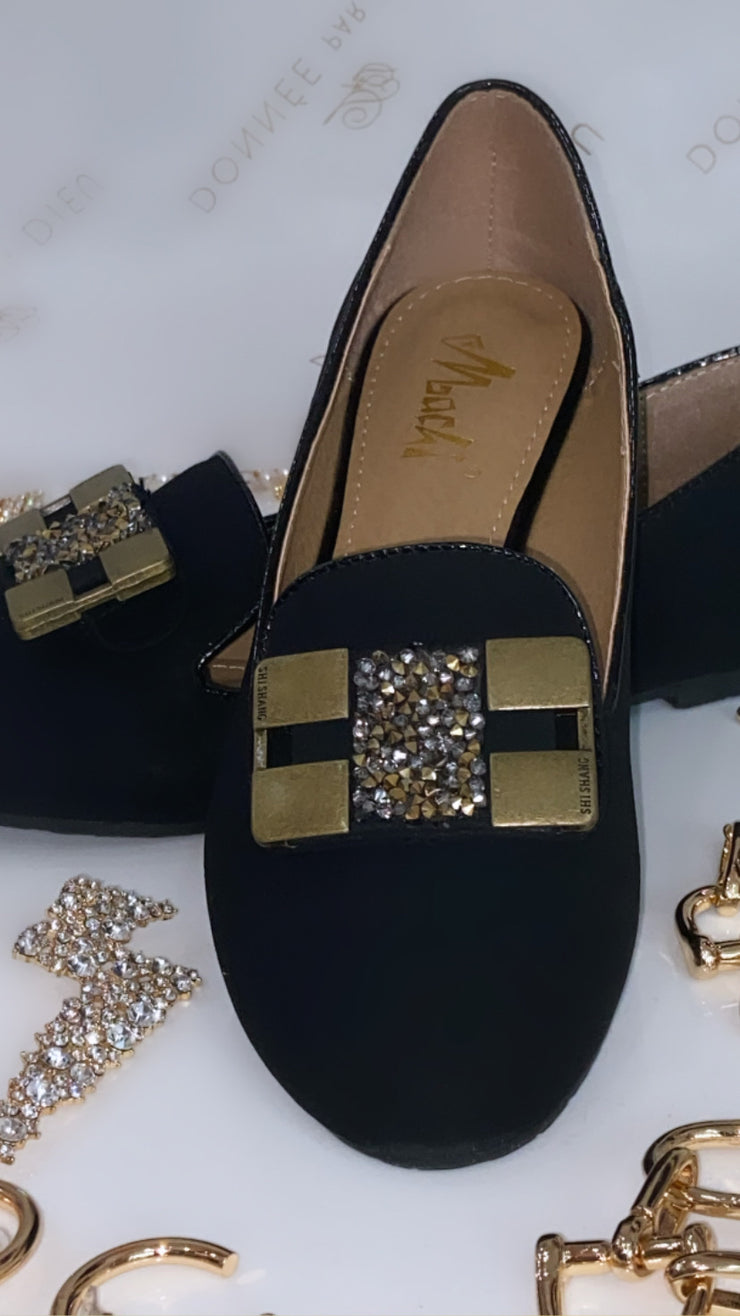 'ELLA' Detailed Flat Shoes