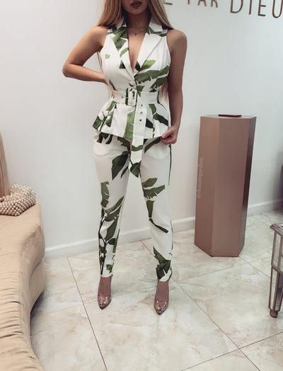 'LEAFY' Two Piece Set