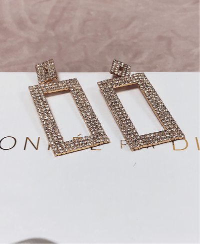 'MILO' Rhinestone Earrings