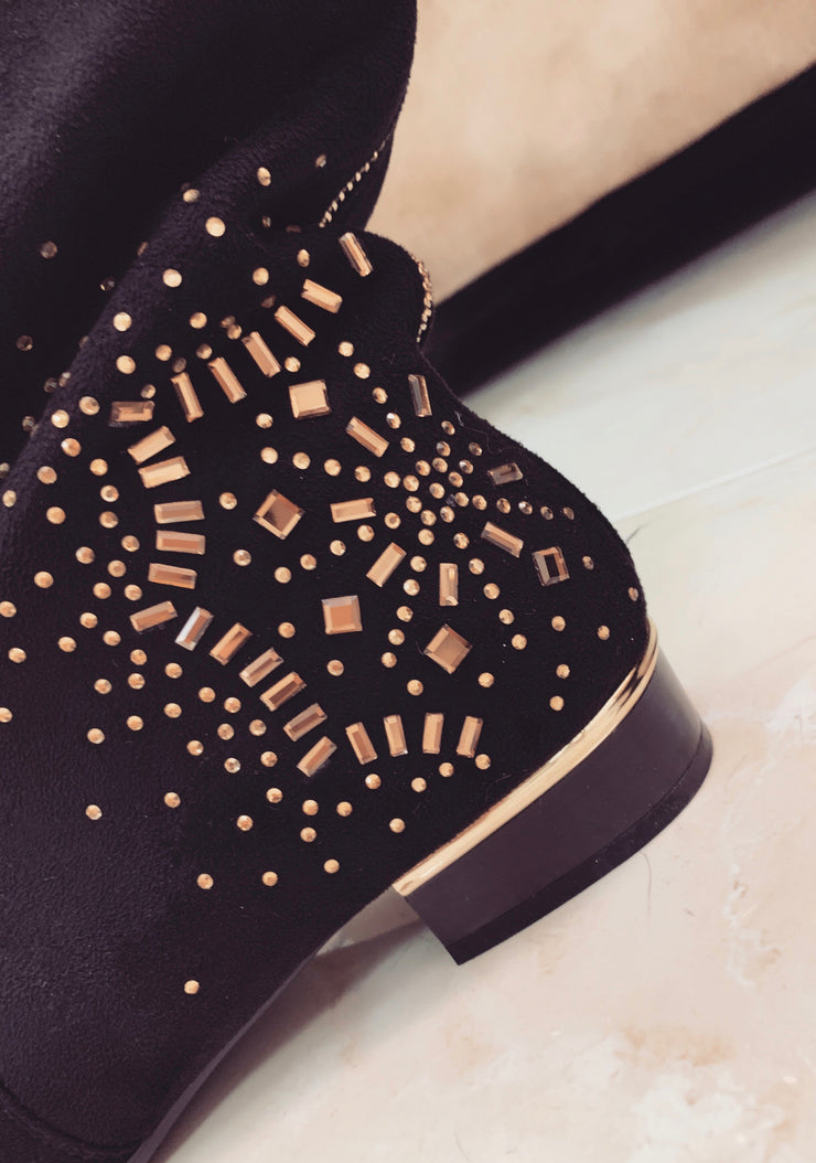 'ROCCO' Studded Booties