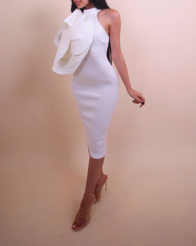 'SAMIRA' One Sleeve Dress