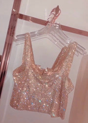 'DARE TO LOVE' Rhinestone Top / Final Sale
