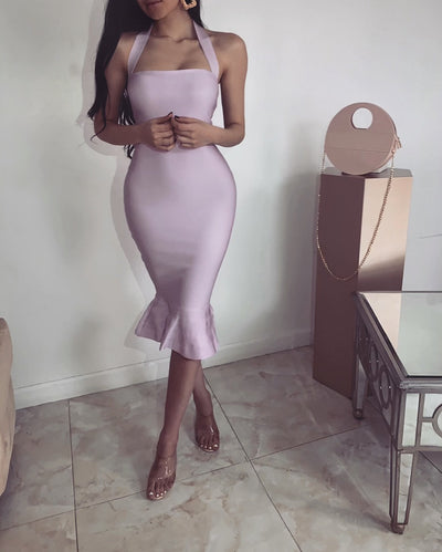 'RENIA' Bandage Bodycone Dress