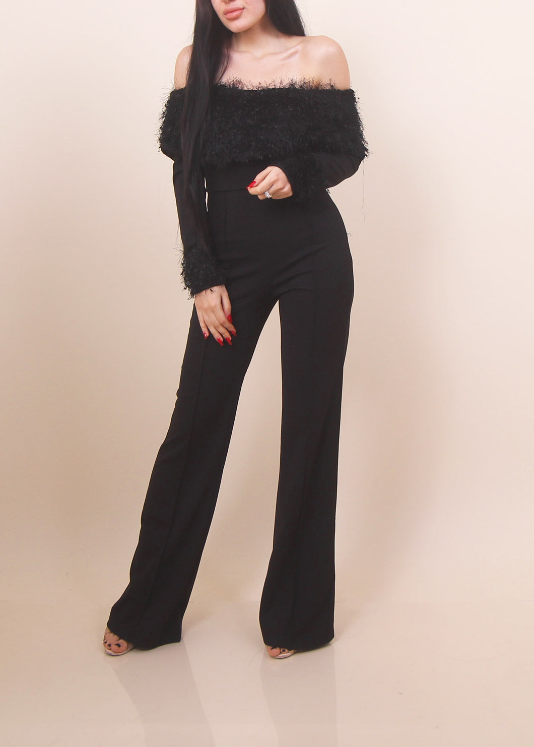 'ZARA' Jumpsuit - Black