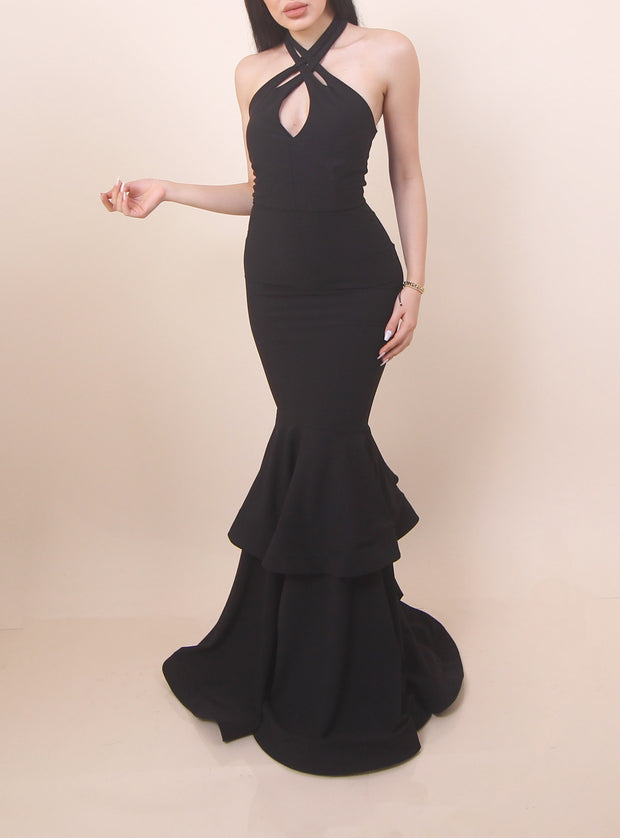 'GRACE' Black Gown