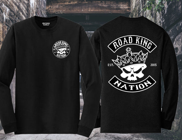 Road King Nation Long Sleeve (Rocker Set-Up)