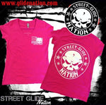 Street Glide Nation Woman's V-Neck