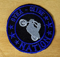 Dyna Glide Nation Round Patches