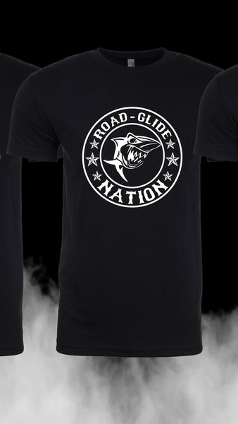 Road Glide Nation Men's Short Sleeve DTG Tee (logo on chest)