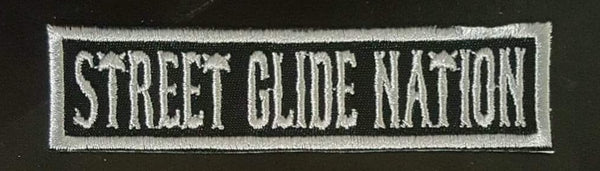 Street Glide Nation Name Tapes