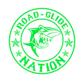 Road Glide Nation Decals