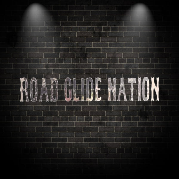 Road Glide Nation Vinyl Decal (Pair)