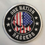 "One Nation Baggers Patch 3"" (Right side)"