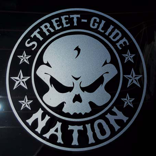 Street Glide Nation Decals One Nation Baggers